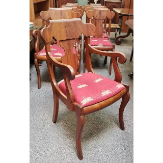 Set of Eight Late 19th Century Walnut Dining Chairs C.1880s Preview