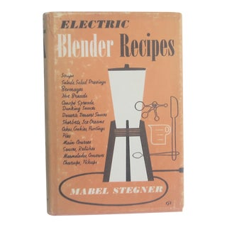 "Mid-Century ''Electric Blender Recipes"" Book"