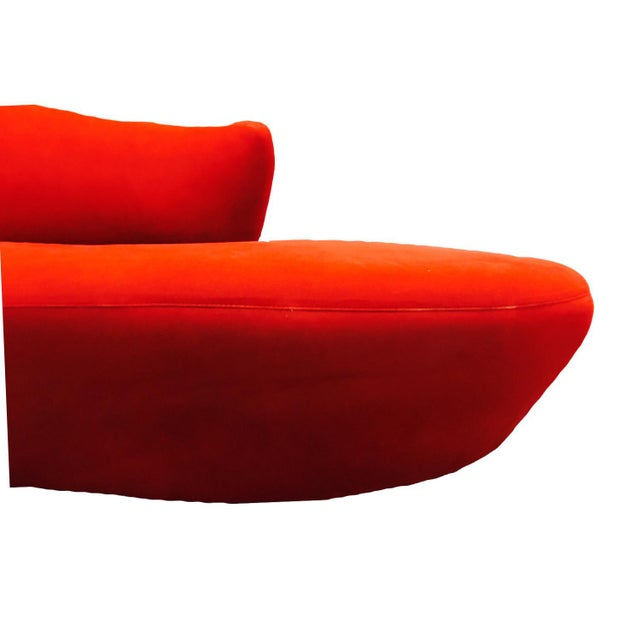 Vladimir Kagan Style Cloud Sofa For Sale - Image 5 of 12