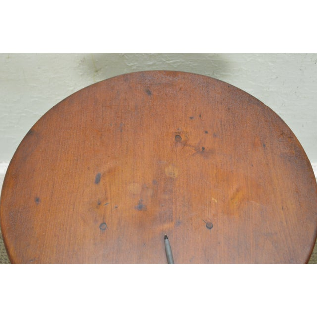 Kensington Furniture Antique Pair of Round English Tavern Tables - Image 4 of 11