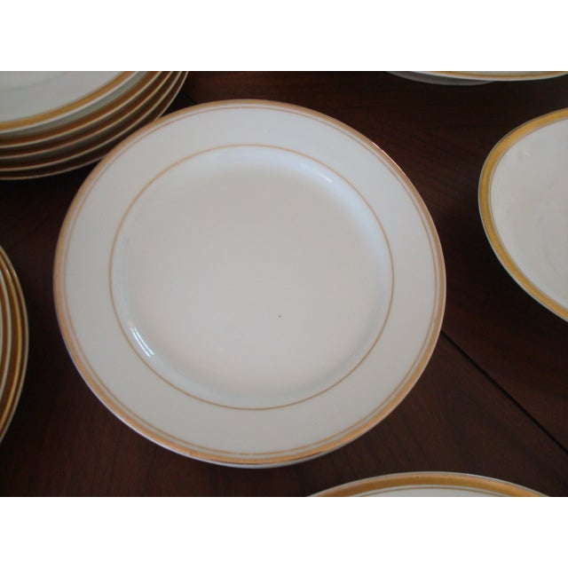 Gold And White Bavaria Dishes - Set of 30 - Image 9 of 11