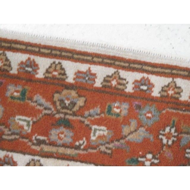 This is a vintage Persian area rug. The piece is about 50 years old. Details: High Quality Construction Quality Tightly...