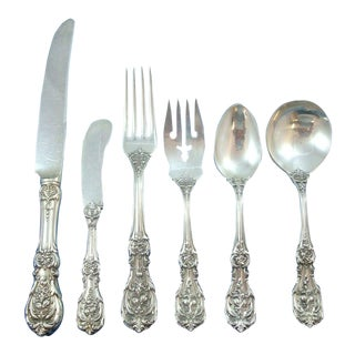 Francis I by Reed & Barton Old Mark Sterling Silver Flatware Set - 77 Pieces For Sale
