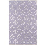 """Image of Erin Gates Thompson Grove Lilac Hand Woven Wool Area Rug 7'6"""" X 9'6"""" For Sale"""