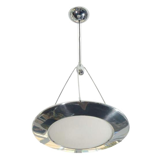 Late 1980s Flos Mira S Silver Ceiling Light - Image 1 of 2