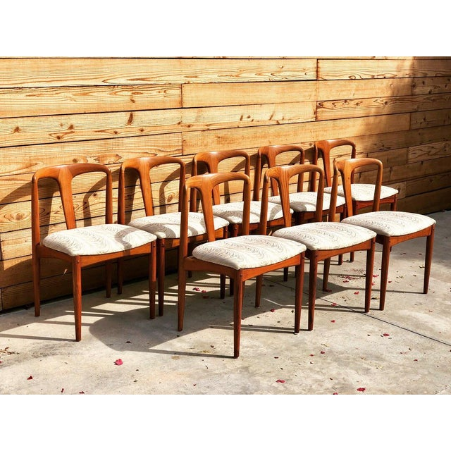 Mid-Century 'Juliane' Dining Chairs - Set of 8 - Image 2 of 6