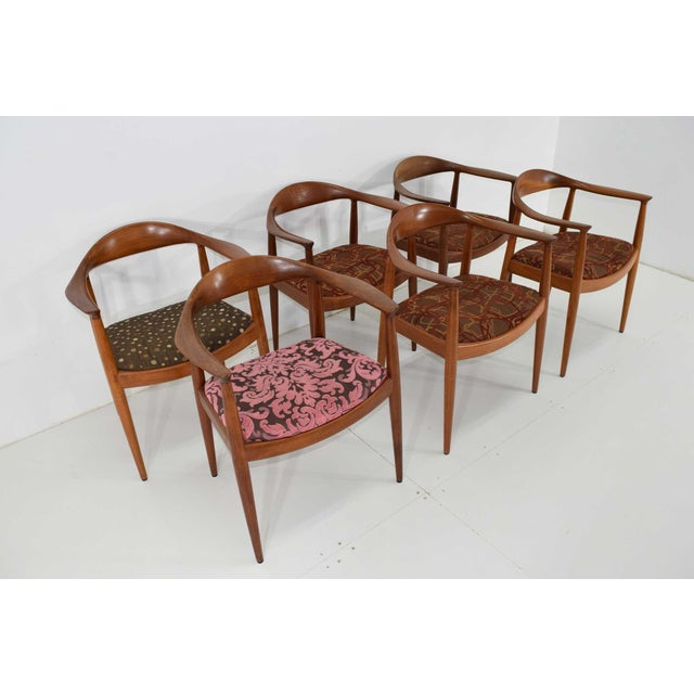 "We have 8 Hans Wegner round chairs often referred to as ""The Chair"". This chair is iconic and was used during the..."