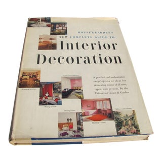 1953 House and Garden's New Complete Guide to Interior Decorating 5th Edition Book For Sale