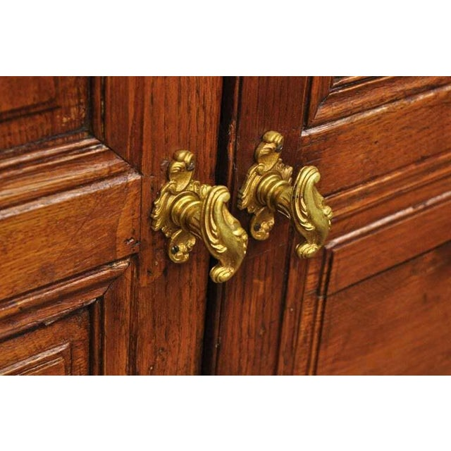 19th Century 19th Century French Louis XVI Oak Interior Double Doors - Set of 2 For Sale - Image 5 of 13