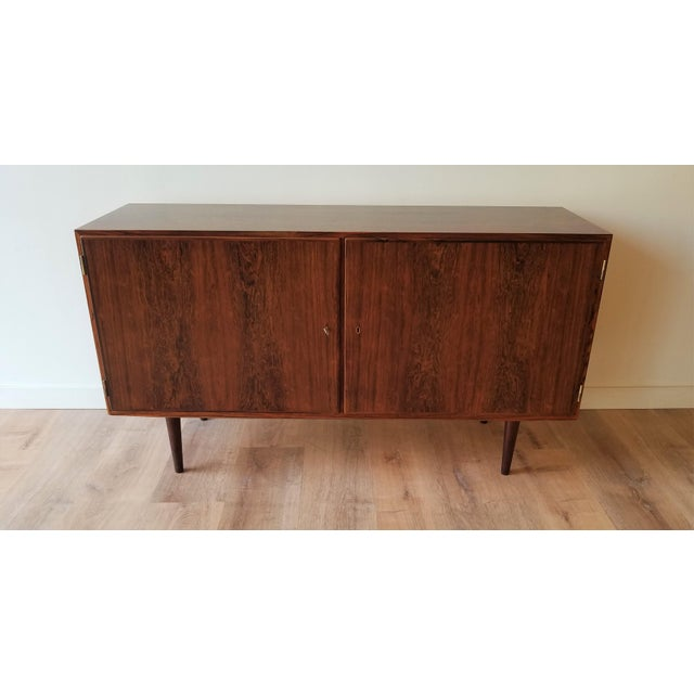 Mid-Century Modern Mid-Century Modern Fully Restored Poul Hundevad Rosewood Sideboard For Sale - Image 3 of 13
