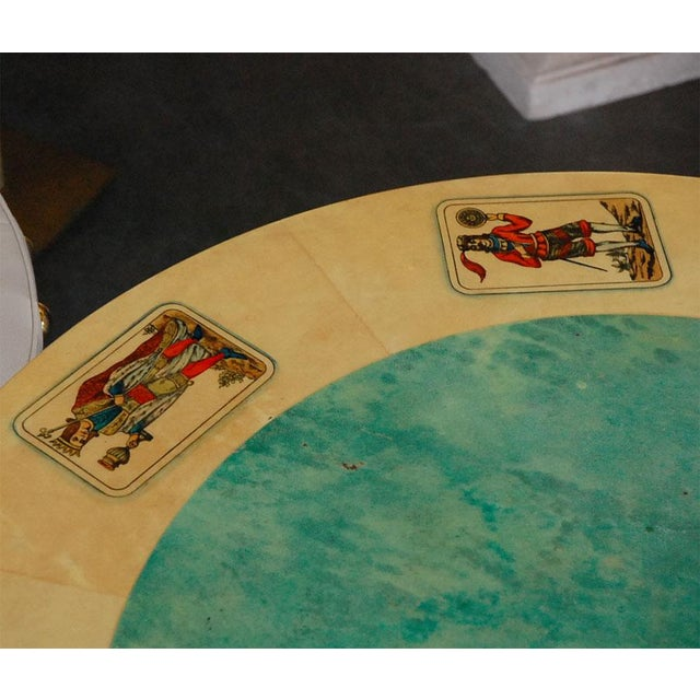 1950s 1950s Aldo Tura Game Table For Sale - Image 5 of 8