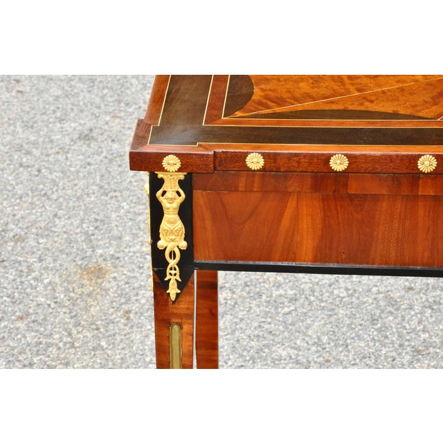 Brown Early 19th Century Russian Neoclassical Table With Planter Insert For Sale - Image 8 of 8