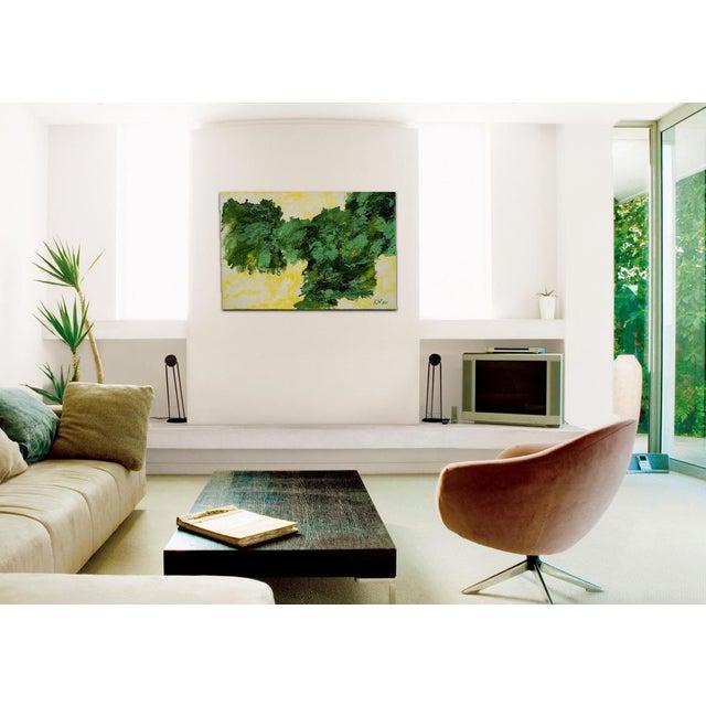 """""""Wild Lettuce"""" Original Painting - Image 3 of 3"""