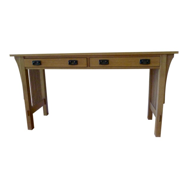 Stickley Mission Sofa Table For Sale
