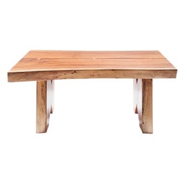 Image of Wood Slab Coffee Tables