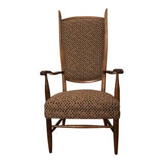 Vintage Mid-Century Dunbar HighBack Chair For Sale