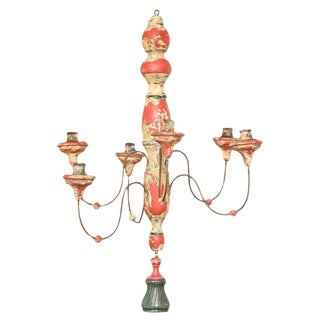 18th Century Tuscan Chandelier For Sale