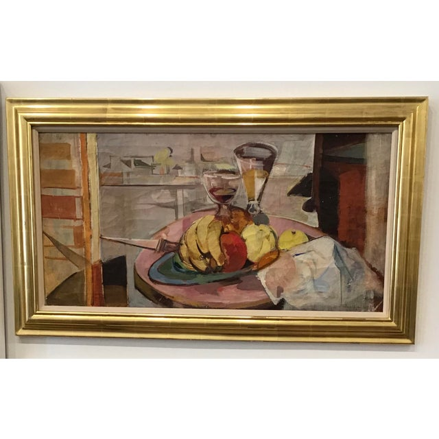 Mid-Century Still Life Painting For Sale - Image 12 of 12