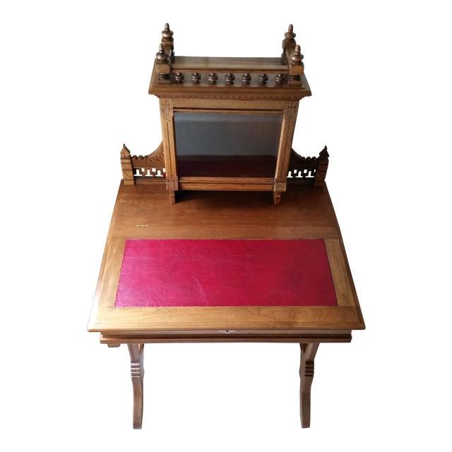 Antique Eastlake Bonheur Du Jour (Joy of the Day) Ladies Writing Desk - Antique Eastlake Bonheur Du Jour (Joy Of The Day) Ladies Writing