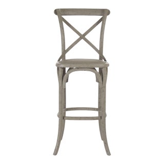 Somer Parisienne Bar Stool in Olive For Sale
