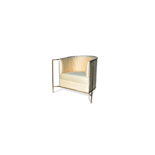 Brass Desire Chair From Covet Paris For Sale - Image 7 of 7