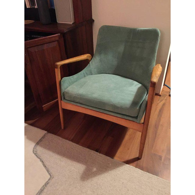Mid-Century Modern 'Seal' Lounge Chair by Ib Kofod-Larsen For Sale - Image 9 of 11