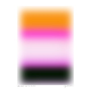 "Color Cloud 5: And There You Were Original Pigment Print - 18x24"" For Sale"
