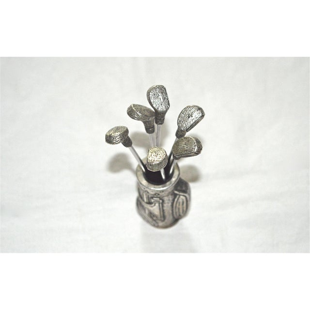 Golf Clubs in Bag Appetizer Picks - Image 7 of 9