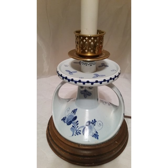 Vintage Deft Candle Stick Table Lamp - Image 5 of 5