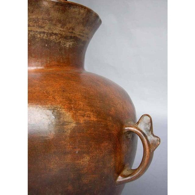 Antique Ceramic Florero Pot For Sale - Image 4 of 6