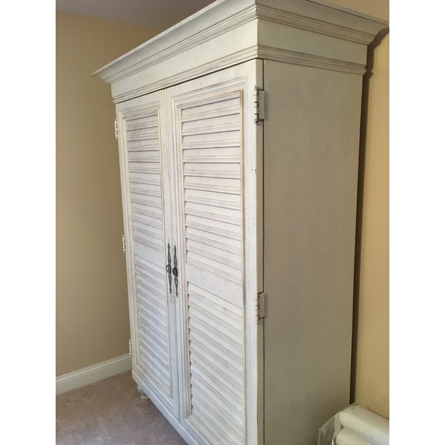 Tommy Bahama Louvered Door Armoire - Image 3 of 4