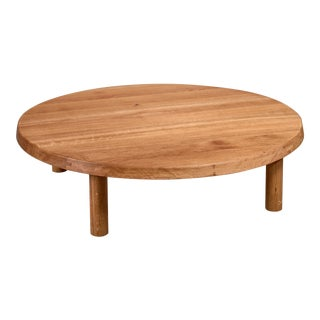 Pierre Chapo Low and Large T02 Coffee Table, France, 1960s For Sale