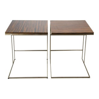1990s Desiron Lap Tables - a Pair For Sale