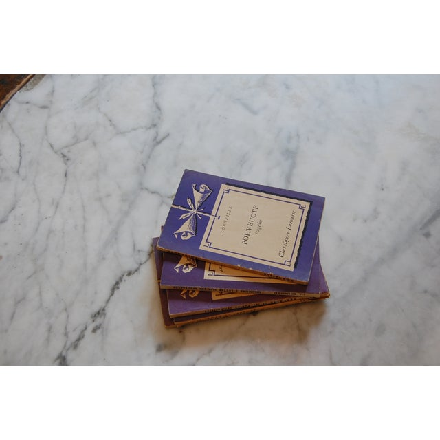 Classiques Larousse Purple Books - Set of 5 For Sale In Chicago - Image 6 of 7
