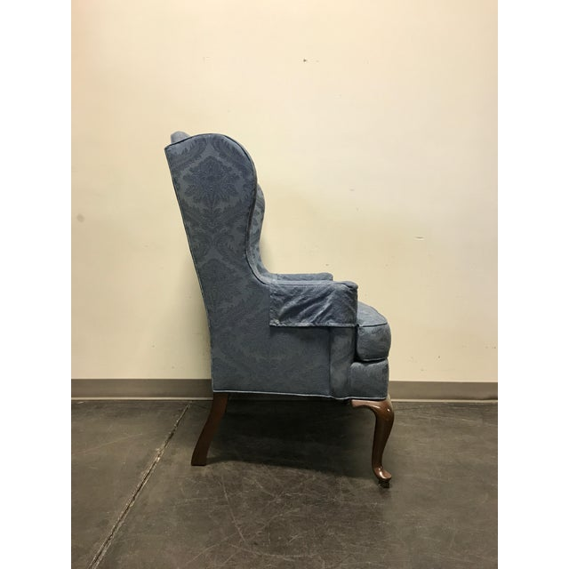 Drexel Classics Queen Anne Wingback Wing Chair - Image 6 of 10