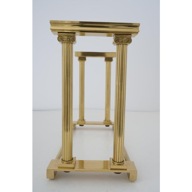 Traditional Mid-Century Adjustable Bookend Polished Brass Neoclassic Revival From Italy Book End For Sale - Image 3 of 12