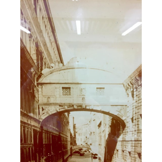 Vintage Sepia Photograph of Venice For Sale In Raleigh - Image 6 of 11