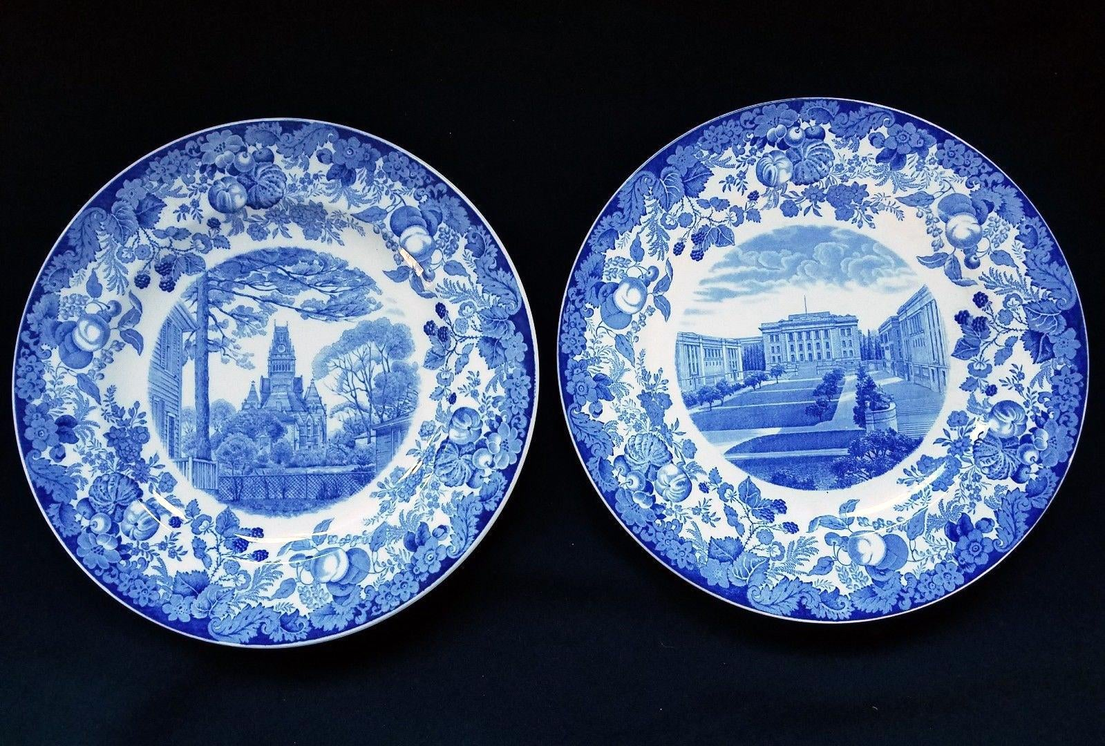 1927 Wedgwood Pottery Plates with Harvard Scenes - Set of 12 - Image 4 of 10  sc 1 st  Chairish & 1927 Wedgwood Pottery Plates with Harvard Scenes - Set of 12 | Chairish