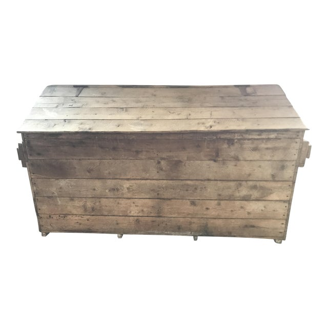 French Country Firewood Box For Sale