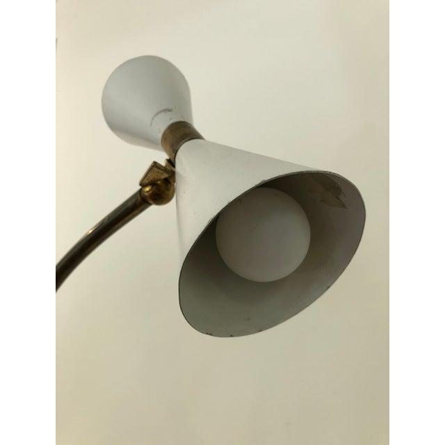 Brass Stilnovo Italian Mid-Century Floor Lamp For Sale - Image 8 of 10