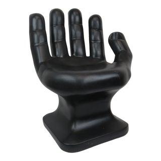 1960s Vintage Rmic Black Hand Chair For Sale