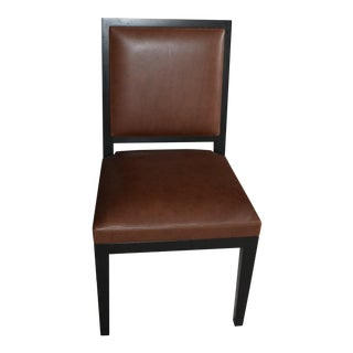 Holly Hunt Louis XVI Leather Side Chair