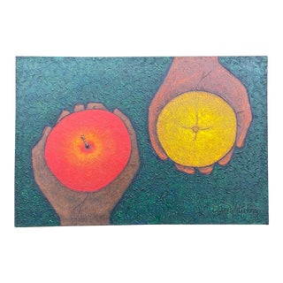 Original Hand Fruit Painting For Sale