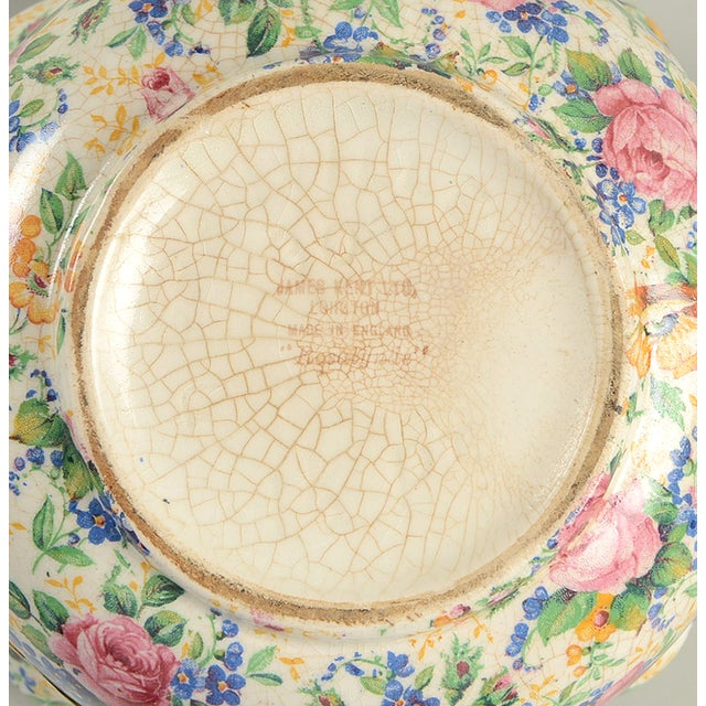 James Kent Rosalynde Chintz 4 Cup Teapot & Lid For Sale - Image 9 of 10