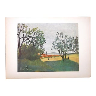 Vintage Ltd. Ed. Post-Impressionist/Surrealist Lithograph-Henri Rousseau (Fr. 1844-1910) For Sale