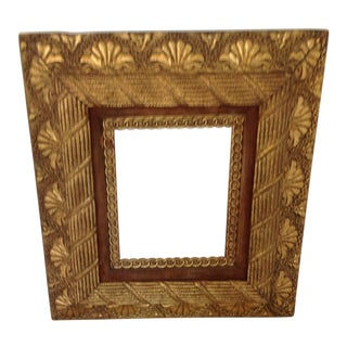 Antique Hand Carved Giltwood Frame For Sale