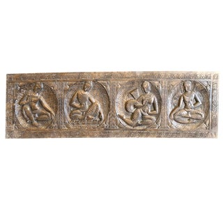 1990s Budha Wall Relief For Sale