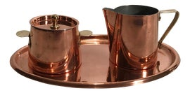 Image of Copper Coffee and Tea Service