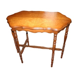 Antique Gingerbread Occasional Table For Sale
