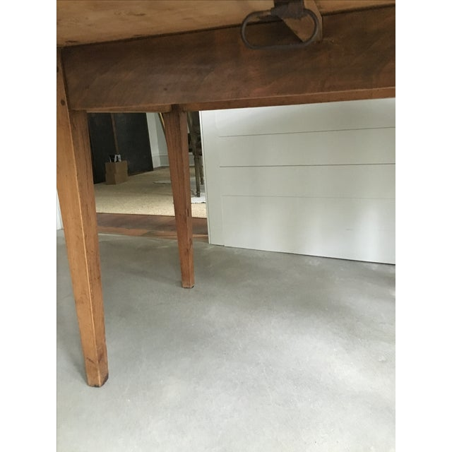 Antique French Drop Leaf Dining Table - Image 5 of 9